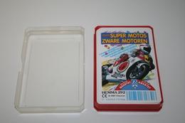 Speelkaarten - Kwartet, Super Motos - Zware Motoren, Nr 292, Schmid Hemma , *** - - Cartes à Jouer Classiques