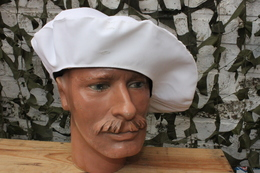 Couvre Béret Blanc Pour Tarte De Chasseurs Alpins (Taille Unique) - Headpieces, Headdresses