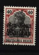 Deutsche Post In Polen,15a,o,gep. - Besetzungen 1914-18