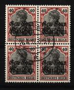 Deutsche Post In Polen,15a,VB,o,gep. - Besetzungen 1914-18