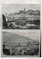 L´Incendie De Chatenois - Les Ruines - Page Original - 1879 - 2 - Documenti Storici