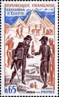France Poste N** (Yv:1731 Mi 1813) Yv:1 Euro Expédition D'Egypte (Thème)