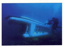Cpm A MONACO Plongez à Bord D' Un Véritable Sous Marin Quai Kennedy Port De Monaco - Hafen