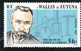 Wallis Et Futuna - 75éme Anniversaire De La Mort Du Physicien Pierre Curie
