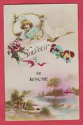 Binche - Souvenir De ... - Jolie Carte Fantaisie ( Voir Verso ) - Binche