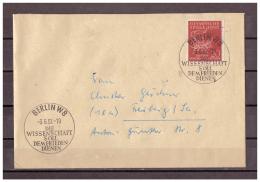DDR, MiNr. 539 Berlin Nach Freiberg SSt Wissenschaft = Frieden 03.06.1957 - [6] Democratic Republic