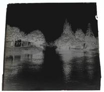 Abbeville Canal - Négatif Sur Plaque De Verre 6X6cm Env - Bien Lire Descriptif - Glass Slides