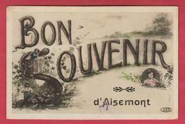 Aisemont - Bon Souvenir De ... - Jolie Carte Fantaisie - 1912 ( Voir Verso ) - Fosses-la-Ville