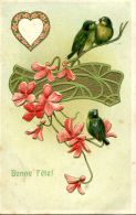 N°33933 -carte Gaufrée (ermbossed Card) -bonne Fête- - Fantasia