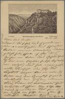 HEXENTANZPLATZ Bodethal Bei Thale (alte PLZ 4308), 22 Vorläufer Und Sehr Frühe Ansichtskarten, Alle Als... - Unclassified
