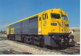 Postal Locomotora Diesel Eléctrica 321-025. Villaver Bajo (ref. 7f-1626) - Eisenbahnen