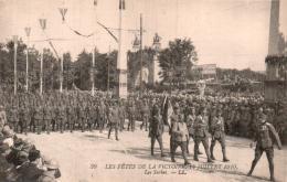 75 PARIS LES FETES DE LA VICTOIRE 14 JUILLET 1919 LES SERBES - Patriotiques