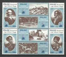 Palau 1983, Viaggio Del Capitano H. Wilson (**), Serie Completa