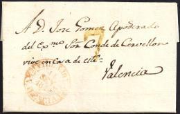 1844. ESPAÑA. SPAIN. RELLEU A VALENCIA. - ...-1850 Prefilatelia