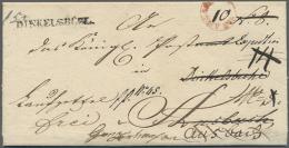 1835, Laufzettel (Nachforschungsantrag) Der Fahrpost, Innen Vorgedruckt, Aus Gunzenhausen Vom 16.11.1835 Nach... - Bavaria