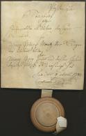 1782, Pfaffenhofen, Steigbrief (= Notarielle Ersteigerungs-Urkunde Für Immobilien) Auf Pergament Mit... - Bavaria