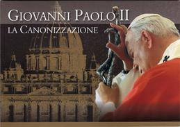Vaticano 2014 FOLDER Canonizzazione Papa Giovanni Paolo II Canonization Saint John Paul II - Papes