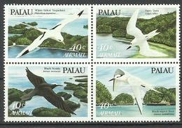 Palau 1984, Uccelli Marini (**), Serie Completa In Blocco