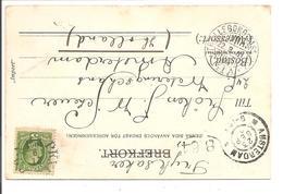 TRELLEBORG-SASSNITZ 141A 1901.Cp. Stockholm Stadsgarden - Schweden