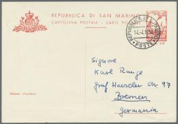 1890/1970 (ca.) Lot Mit Ca. 55 Ganzsachen (Postkarten, Postanweisungen, Packetkarten). Insbesondere Bei Den...
