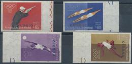 1945/1960, Postfrische Zusammenstellung Von Spezialitäten, Dabei Geschnittene Musterexemplare Roosevelt 1947...