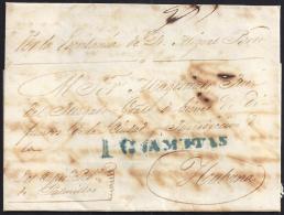 1842. ESPAÑA. SPAIN. PALMILLAS A LA HABANA. - Prephilately