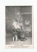 Cp , Contes , Fables & Légendes , LE PETIT POUCET , Publicité : Chaussures Thomasset , Paris , Vierge - Fiabe, Racconti Popolari & Leggende