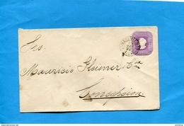 "Marcophilie-CHILI Enveloppe Entier Postal "" 5c Colomb Cad NACIMIENTO 1896>Conception - Chile"