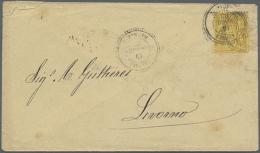 1738/1925 Ca., Mehr Als 80 Briefe, Ansichtskarten Und Einige Briefstücke Mit Einigen Schiffspost- Bzw....