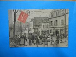 56) 01 - Hennebont - N°2278 - Le Bas De La Rue Trotter - Le Marché - EDIT - - Hennebont