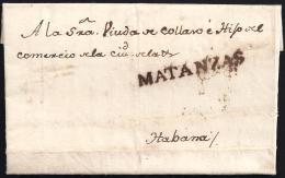 1840. ESPAÑA. SPAIN. PUERTO PRINCIPE A LA HABANA. - Prephilately