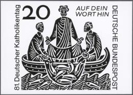 """1966, Bundesrepublik Deutschland, """"81. Deutscher Katholikentag"""" Und """"Kardinal Graf Galen"""", Lot Von Zwölf S/w..."""