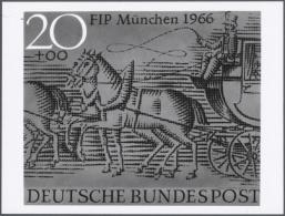 1966, Bundesrepublik Deutschland, FIP-Kongreß München, Lot Von Neun S/w Foto-Essays In Verschiedenen...