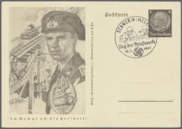 Ab Ca. 1935: DEUTSCHLAND, Umfangreiche Sammlung Von Annähernd 1.000 Belegen Zu Diesem Thema, Dabei...