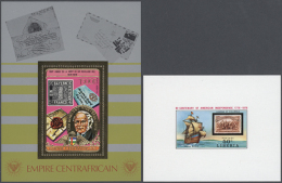 1970/1990 (ca.), STAMPS ON STAMPS, U/m Collection Of Apprx 730 Stamps And Apprx. 130 Souvenir Sheets (also Some...