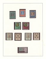 1949/2000 (ca.), STAMPS ON STAMPS, Predominantly U/m Collection With Stamps And Souvenir Sheets, Neatly Arranged In...