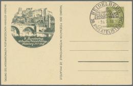 1908/1986 (ca.), Europa/Übersee, Sammlung Von 50 Meist Versch. Belegen Mit Briefen Und Ganzsachen, Viele...