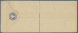 1895-1928 (ca.), Small Collection Of Seven Different Registered Letters (all 254 X 107 Mm) Incl. India QV Optd....