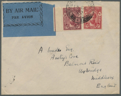 1889/1954 (ca.), Unusual Accumulation With 34 Covers And Postal Stationeries Incl. Many Better Usages, Rates And...