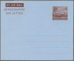 1968/1975 (ca.), Accumulation With About 300 Unused AEROGRAMMES With Many Different Types And Watermarks,...