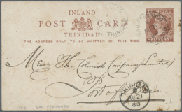 1885/1940 (ca.), Duplicated Accumulation Including TOBAGO And TRINIDAD With About 260 Commercially Used Or CTO...