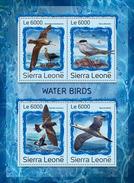 SIERRA LEONE 2016 - Water Birds. Official Issue.