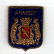 PIN'S ANNECY - Villes