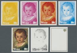 1977/90, Sammlung Von 3.787 PHASENDRUCKEN Nur Verschiedener Und Kompletter Ausgaben, Dabei Viele Schöne Motive...