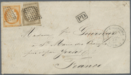 1873/1945 (ca.), Unusual Accumulation With 23 Covers, Postal Stationeries And Picture Postcards With Many Better...