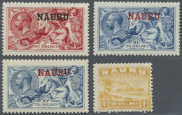 1916-35: Collection Of The First Sets Complete, Mint Never Hinged Or (few) Lightly Hinged, Including See Horses...