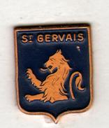 PIN'S St GERVAIS - Villes