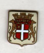 PIN'S CHAMBERY - Villes