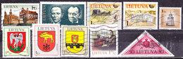 Selezione Lituania Usati - Francobolli