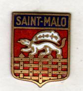 PIN'S SAINT MALO - Villes